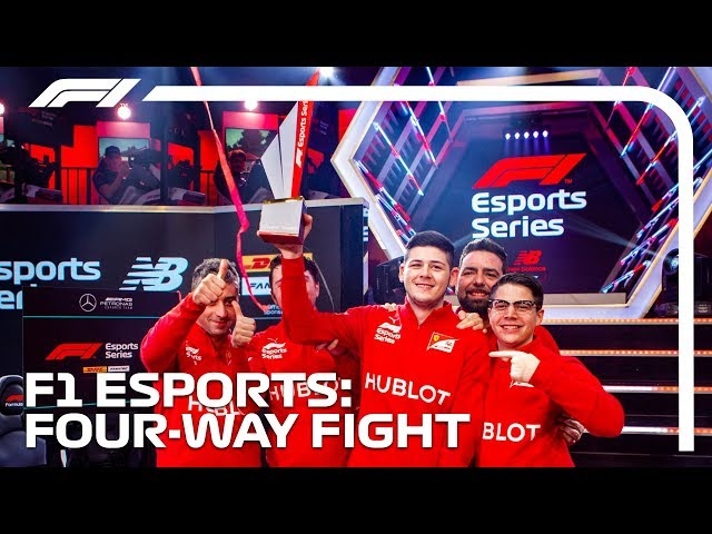 The Championship Fight!   F1 Esports Pro Series Grand Final