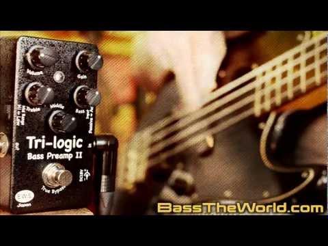 E.W.S. TRI-LOGIC BASS PREAMP II | BassTheWorld.com