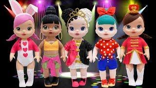 Play Doh Outfits L O L Surprise Doll Majorette Honey Bun Hops BB Bop Heartbreaker
