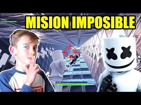 ¡MARSHMELLO EN MISION IMPOSIBLE! (MODO CREATIVO)