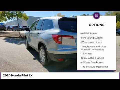 2020 Honda Pilot LX New 23903