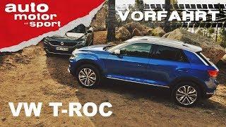 VW T-Roc: Ernste Konkurrenz für Golf & Tiguan? – Vorfahrt (Fahrbericht/Review)  auto motor und sport Video