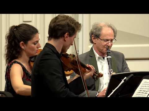 MOZART: Clarinet Quintet in A major, K. 581 - ChamberFest Cleveland (2017)