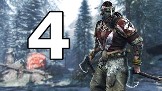 For Honor Walkthrough Part 4 - No Commentary Playthrough (PS4)