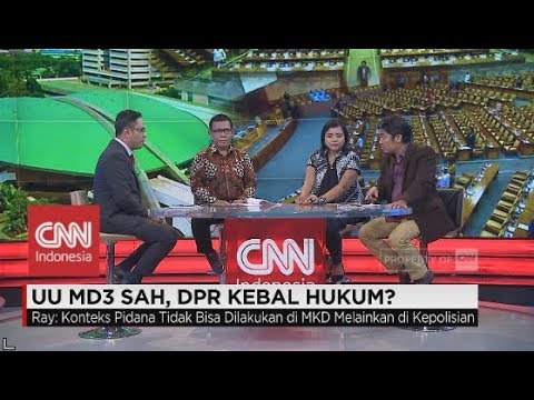 Masinton: UU MD3 Sah, agar Anggota DPR Tidak Mudah Dikriminalkan