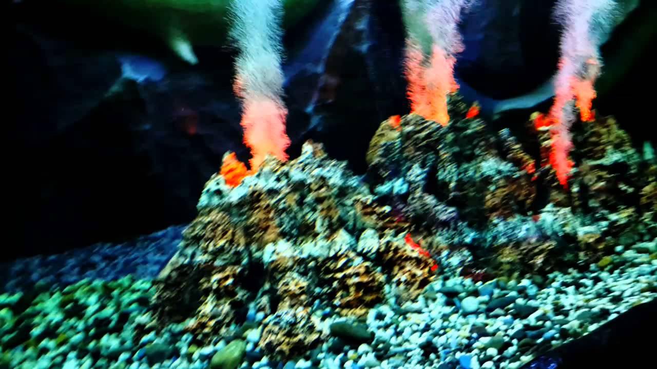 Вулканы для аквариума своими руками