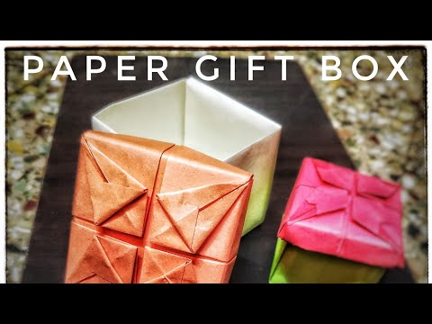 how to make paper gift box | keepsake box | birthday box | bridesmaid proposal box