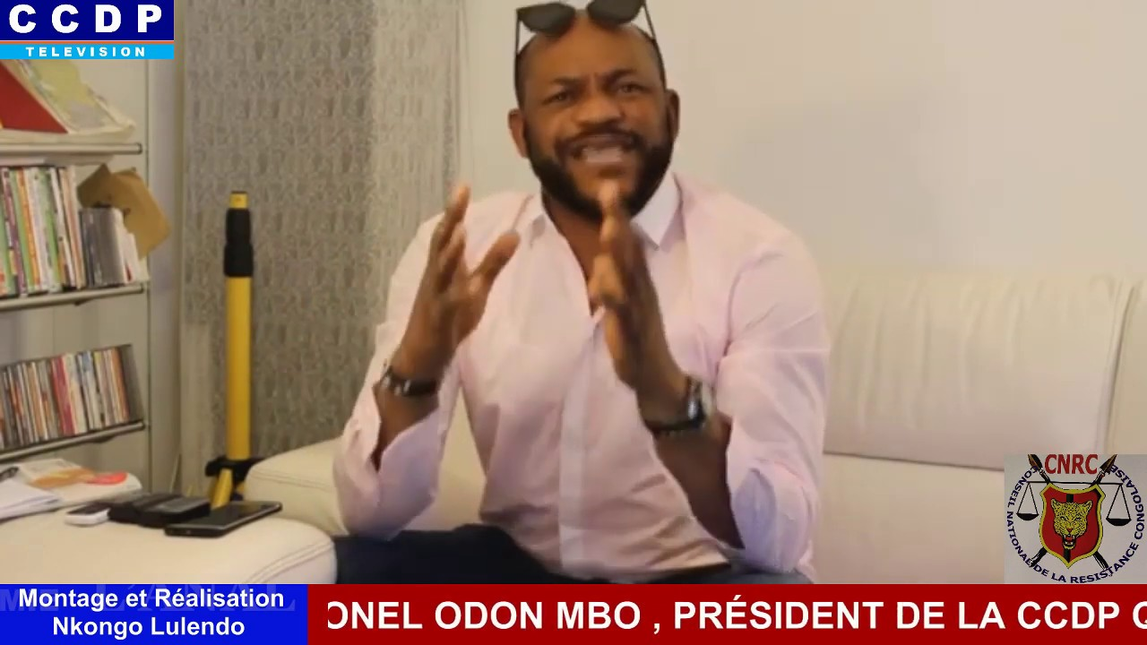 LE COLONEL ODON MBO DÉCORTIQUE L'ACTUALITÉ POLITIQUE DE LA RDC OCCUPÉE