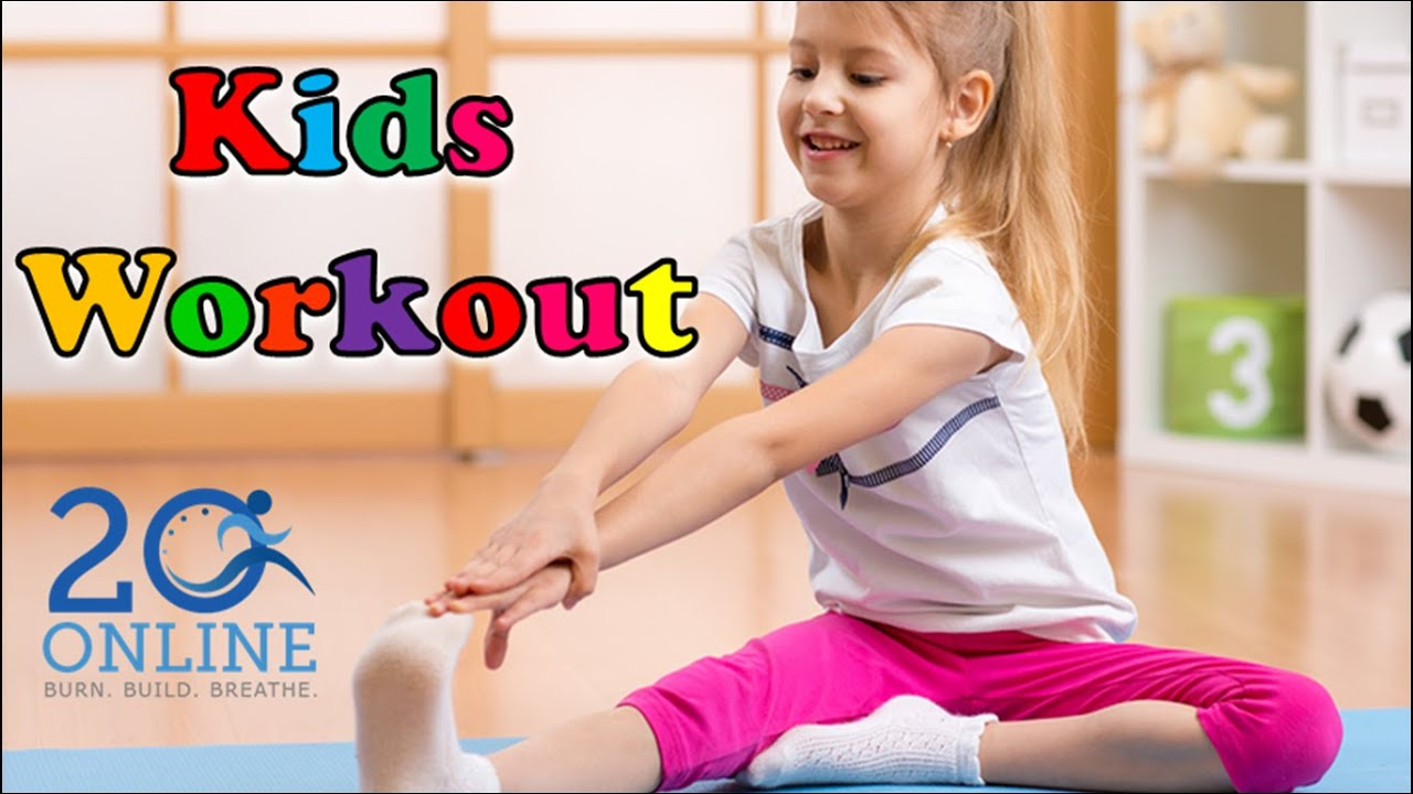 Kids 20 Minute Workout - Playful Poses - 20 Online