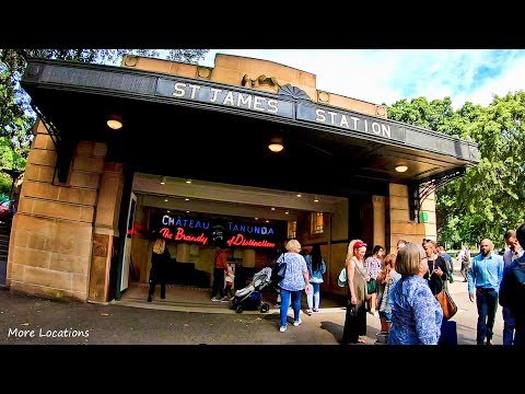 St James Train Station - Sydney Australia | Sydney Trains