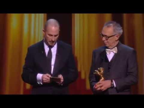 Banned Iranian director wins Berlin's Golden Bear