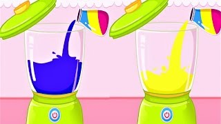 Baby Panda Chef - Baby  Play Cooking & Guess What Color Juice ! Baby Panda Educational Game
