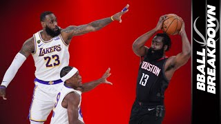 Did The Lakers Stop The Rockets From Shooting 3s? Game 3 2020 NBA Playoffs