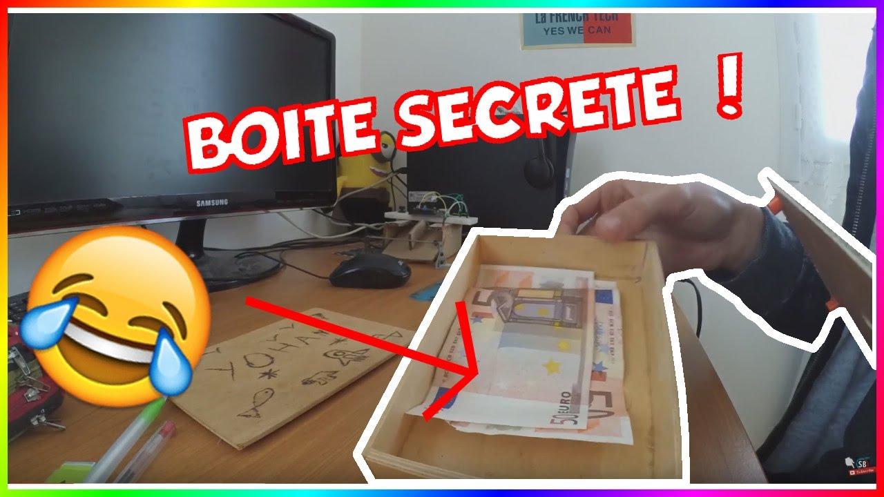 Fabriquer une boite secrete youtube for Meuble avec cachette secrete