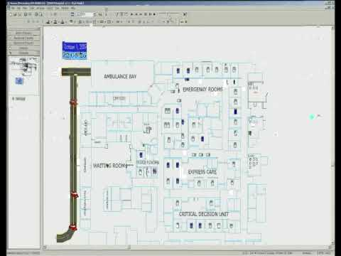 Emory University Hospital Midtown - Emergency Department Simulation Model (WMV)