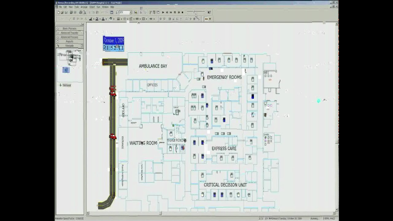 simulation model for emergency department Simulation optimization for healthcare emergency departments - wait times and delays need to be reduced and eliminated to improve ed capacity and operation efficiency with simcad health simulator.