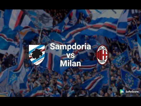 Sampdoria Vs Milan LIVE
