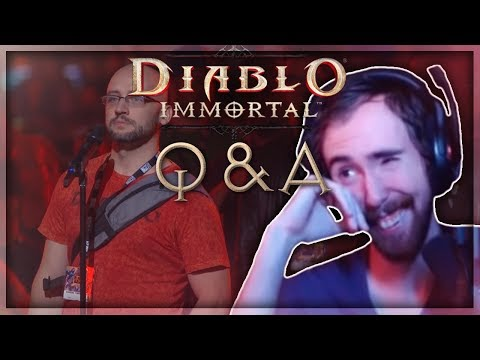 Asmongold Reacts to the Diablo Immortal Q&A | Days 1 and 2