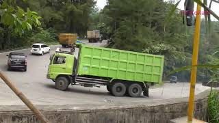 Sitinjau Lauik Extreme Road || Buss And Truck Videos.