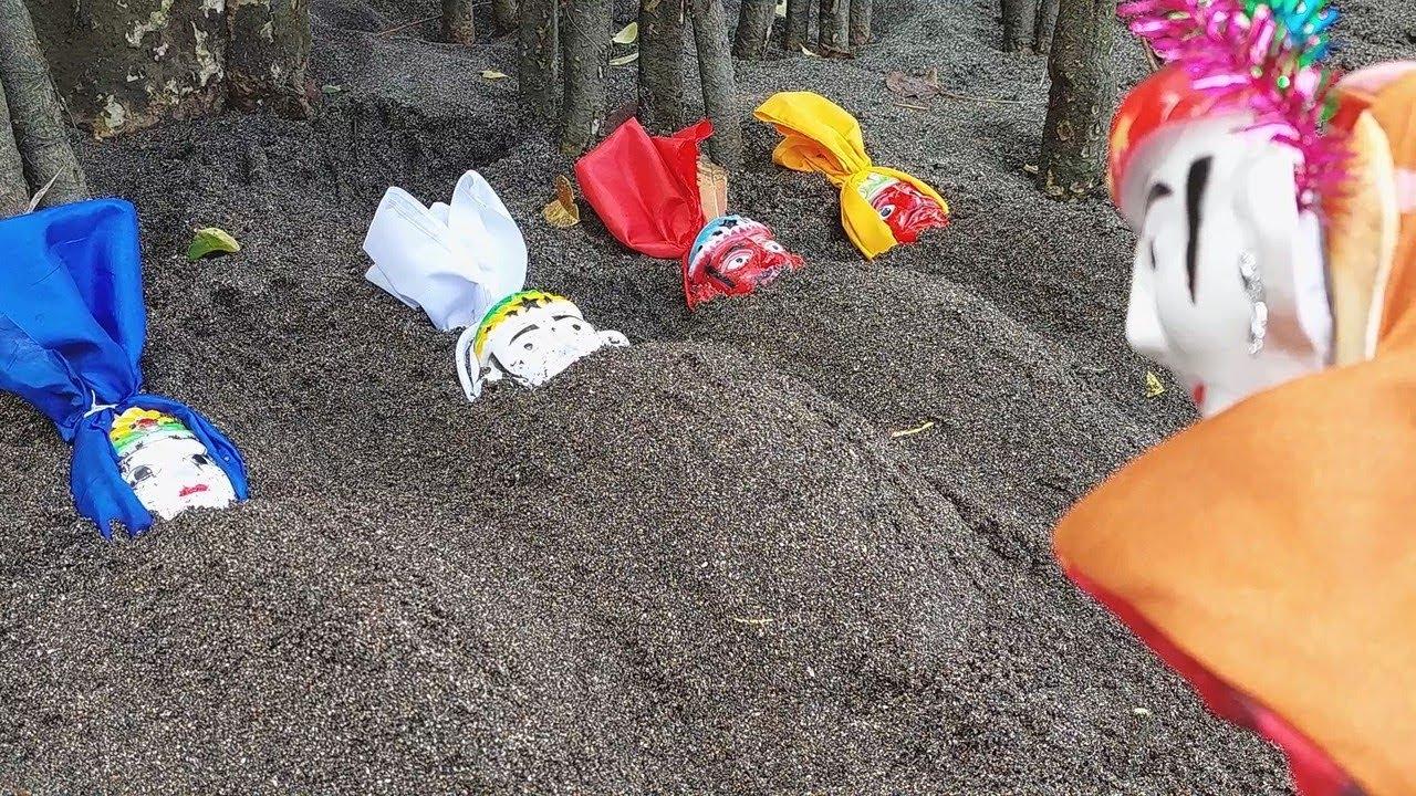 Marlina Menemukan Kuburan Ondel-Ondel Betawi, Ondel Ondel Pocong, Ondel Ondel Serem