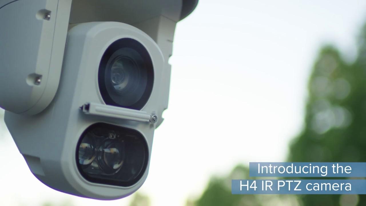 Die Avigilon H4 IR PTZ-Kamerareihe
