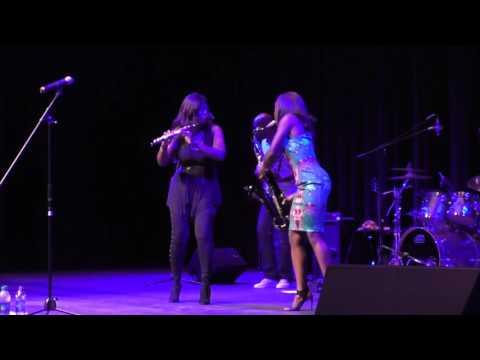 "Jazmin Ghent & Althea Rene ""Snoochi Pooch"" Magic City Jazz Festival"