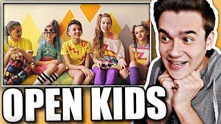 Реакция на Open Kids - КРУЧЕ ВСЕХ (Backstage)