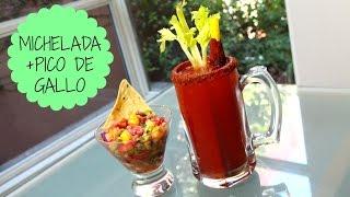 MICHELADA (beer cocktail) & PICO DE GALLO! Thumbnail