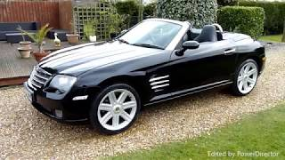 Video Review of 2005 Chrysler Crossfire Convertible For Sale SDSC Specialst Cars Cambridge uk