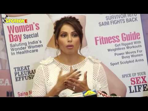 UNCUT- Bipasha Basu Launch New Cover Page Of