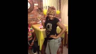 My Twin Auntie Ghetto Baby Shower