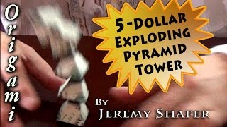 5 Dollar Exploding Pyramid Tower