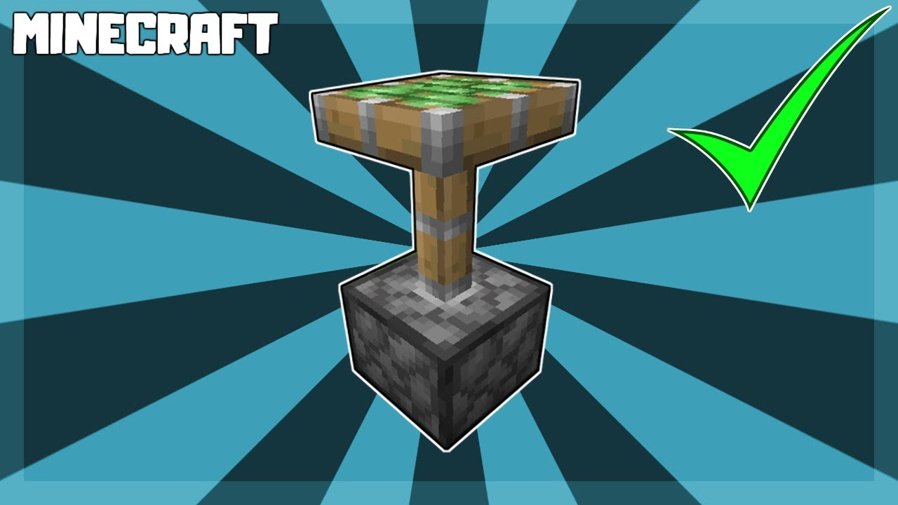 How to Make a STICKY PISTON in Minecraft! 1.16.3
