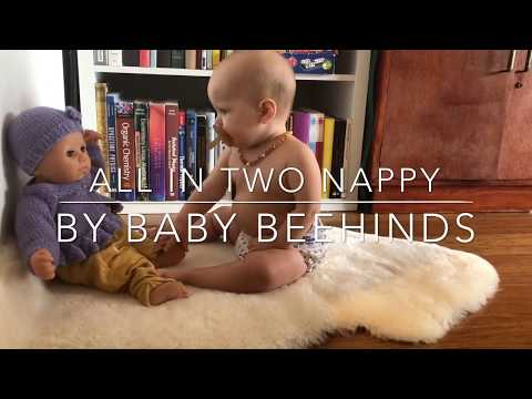 New All-In-Two: One Size Nappy