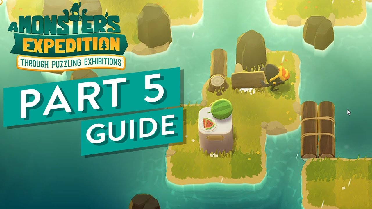 A Monster S Expedition Walkthrough Solution Puzzle Game Part 5 Rain Biome And More Youtube