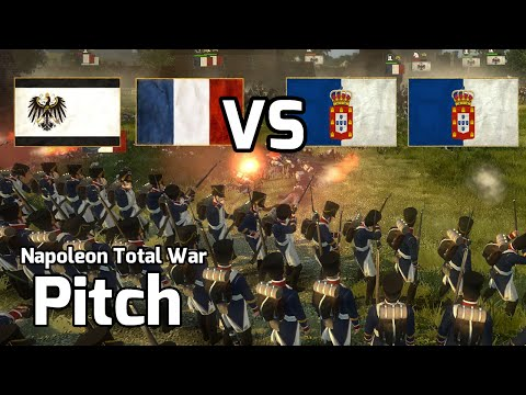 Napoleon Total War Online Battle #9 (2v2) - Interesting Tactics...
