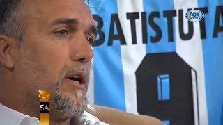Sin Anestesia - Con Gabriel Omar Batistutal - Batigol - Anécdotas en Boca - Tristeza Mundial 2002