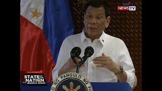 SONA: Pres. Duterte: Dapat kasuhan ang nangangasiwa ng Kapa Community Ministry