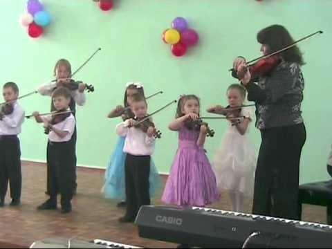 видео: Юные скрипачи Борисоглеба