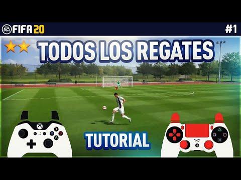 REGATES EFECTIVOS TUTORIAL - TODOS Los REGATES De 1 Y 2 ⭐️  FIFA 20 & 19