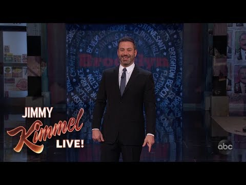 Jimmy Kimmel Live is Back in Brooklyn!