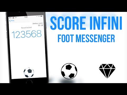 Comment tricher au jeu de Foot sur Messenger ! • (Score Infini)