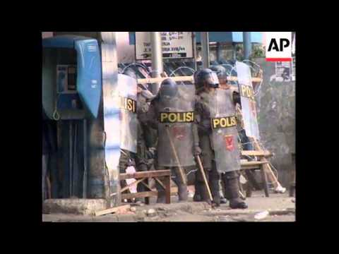 INDONESIA: OUTBREAKS OF RIOTING IN JAKARTA
