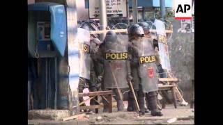 INDONESIA: OUTBREAKS OF RIOTING IN JAKARTA