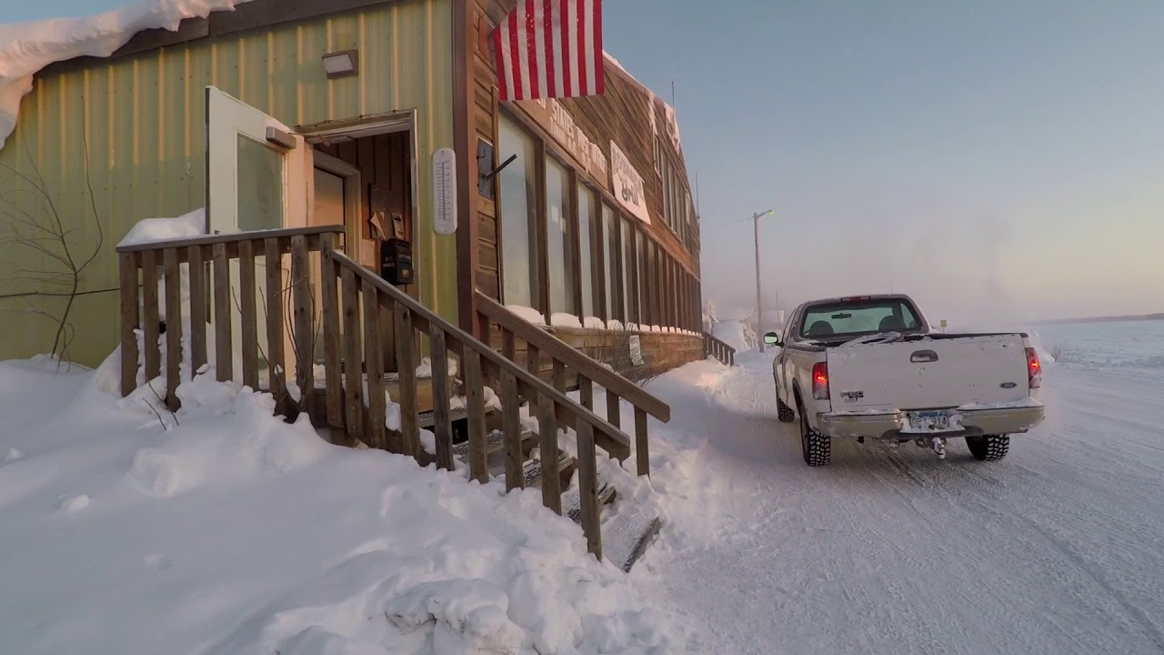 Download Yukon River Village at 50 Below    Tanana, Alaska - Stan Zuray