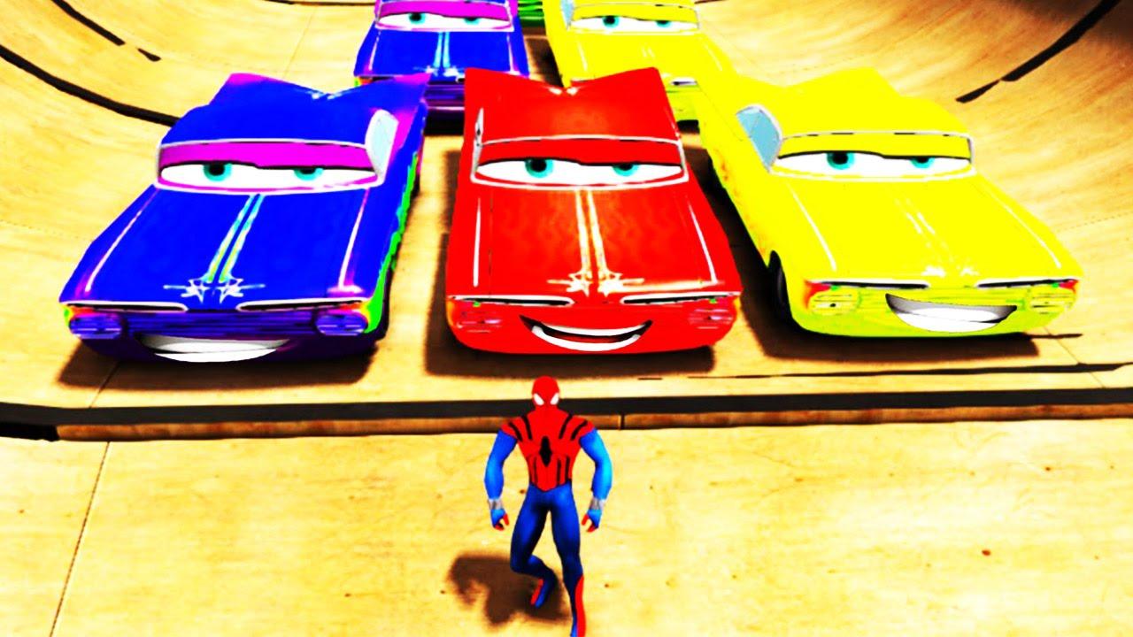 EPIC Colors cars Nursery Rhyme Disney Pixar Cars Custom ...
