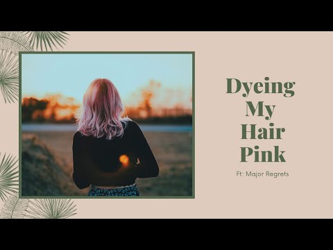 DYEING MY HAIR PINK | Moroccanoil Color Depositing Mask