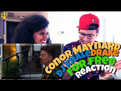 Conor Maynard - For Free - DJ Khaled - Drake Reaction