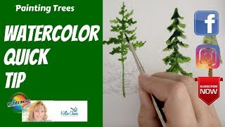 42. Watercolor - How to Draw and Paint a Tree(Here's a Sample of How to Draw a Paint a Tree from my Newest Online Holiday Course: 50% Off Sale - For Beginner painters easy step by step!, 2016-11-11T16:52:14.000Z)