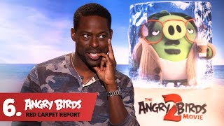 Sterling K. Brown's Favorite Angry Bird - Angry Birds Red Carpet Report Ep.6